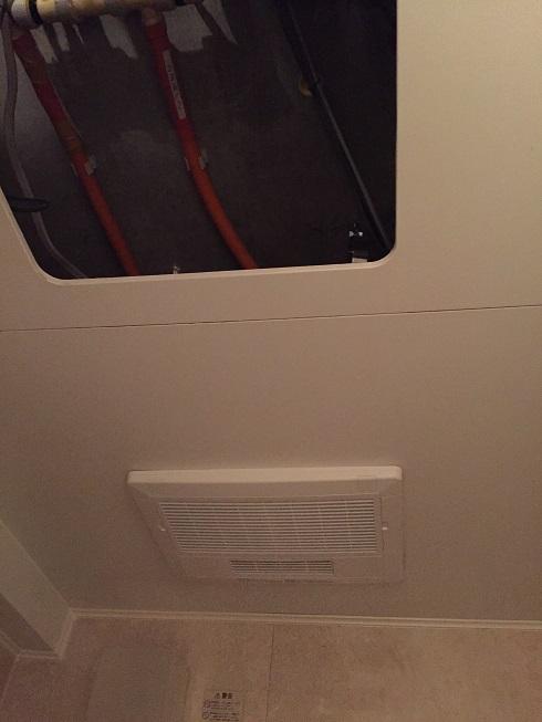 浴室換気乾燥機取り替え