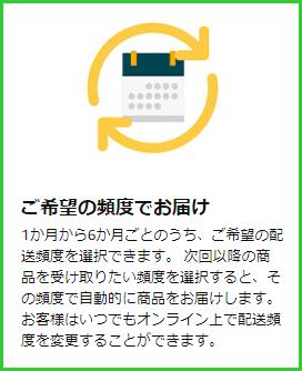 Amazon 定期おトク便 変更